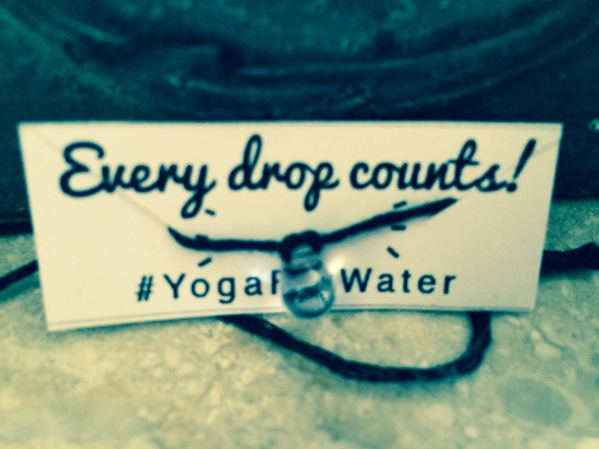 yoga for water bracelets